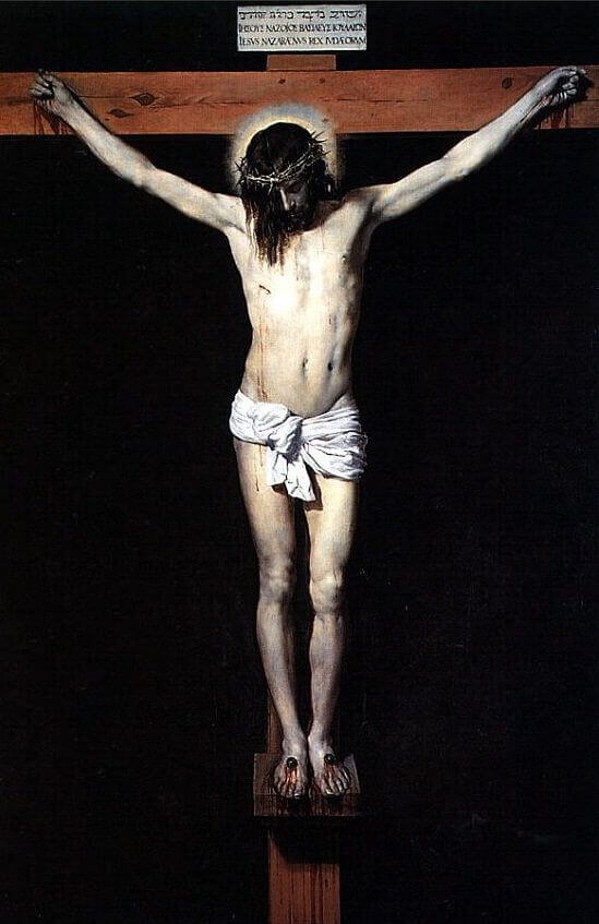 Christ on the Cross, 1632 by Diego Velazquez