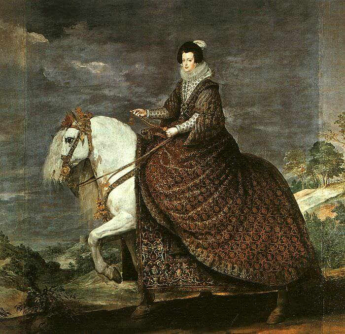 Queen Isabel of Bourbon Equestrian, 1635