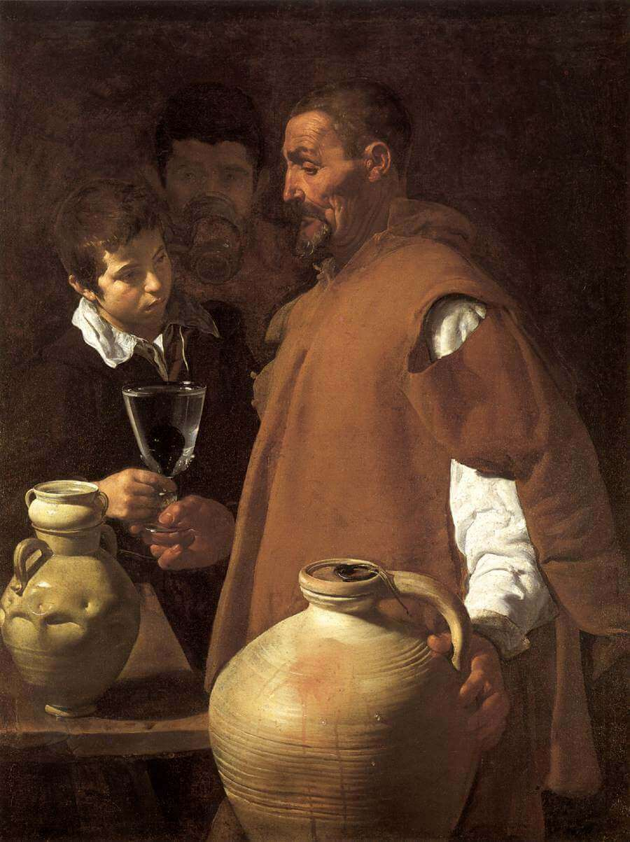 The Waterseller of Seville, 1623 by Diego Velazquez